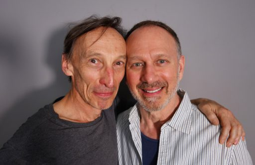 Julian Richings and David Gale